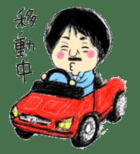 Mr.Chobihige sticker #557457