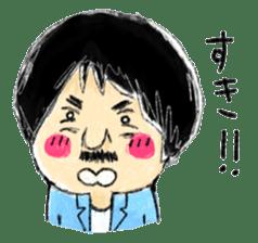 Mr.Chobihige sticker #557462