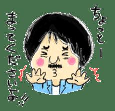 Mr.Chobihige sticker #557468