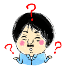 Mr.Chobihige sticker #557471