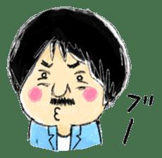 Mr.Chobihige sticker #557473