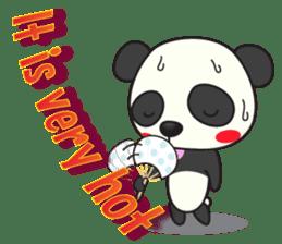 Talk panda sticker #558996