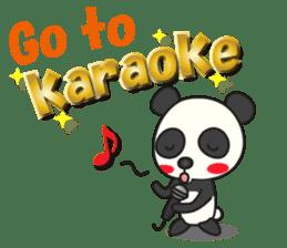 Talk panda sticker #559000
