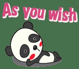 Talk panda sticker #559001