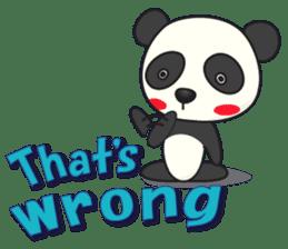 Talk panda sticker #559005