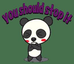 Talk panda sticker #559007