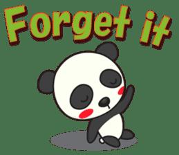Talk panda sticker #559011