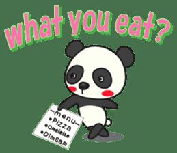 Talk panda sticker #559015
