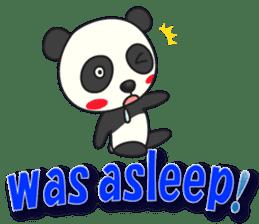 Talk panda sticker #559019