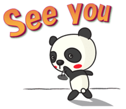 Talk panda sticker #559020