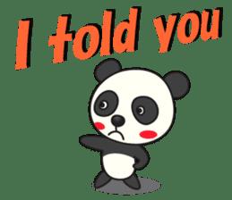 Talk panda sticker #559021