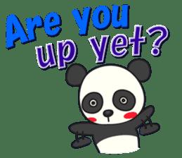 Talk panda sticker #559023