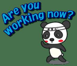 Talk panda sticker #559024