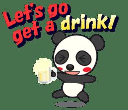 Talk panda sticker #559025