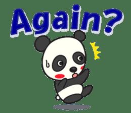 Talk panda sticker #559032