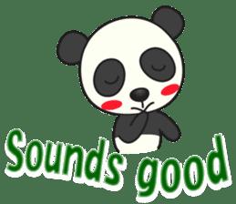 Talk panda sticker #559033