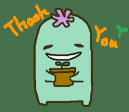 Muru : Cactus Garden sticker #559678