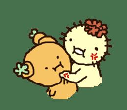 Muru : Cactus Garden sticker #559696