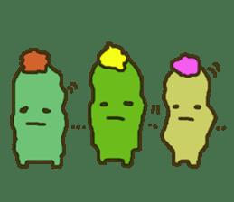 Muru : Cactus Garden sticker #559707