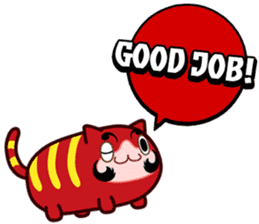 BIG MOUTH  CAT sticker #559848