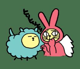 Yamaneko-bunny-chan sticker #562257