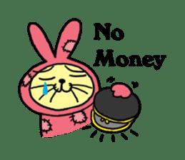 Yamaneko-bunny-chan sticker #562258