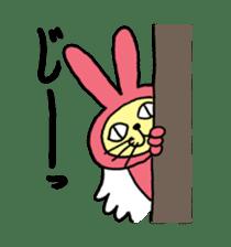 Yamaneko-bunny-chan sticker #562259
