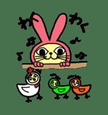 Yamaneko-bunny-chan sticker #562271