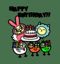 Yamaneko-bunny-chan sticker #562272