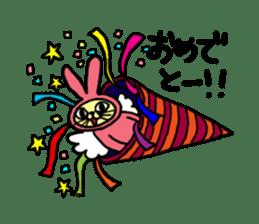Yamaneko-bunny-chan sticker #562273