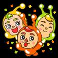 ウェブの妖精「ヤマケル」と仲間たち。