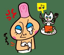 Pirouette Nut-chan sticker #564800