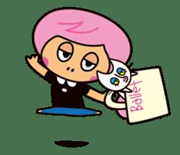 Pirouette Nut-chan sticker #564821