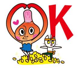Pirouette Nut-chan sticker #564825