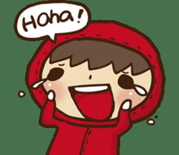 Boson in red sticker #564998
