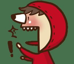 Boson in red sticker #565010
