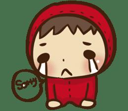 Boson in red sticker #565018