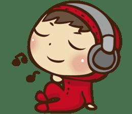 Boson in red sticker #565019