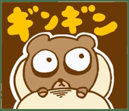 Sleepless Bear sticker #566087