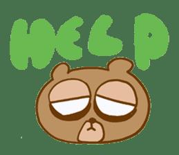 Sleepless Bear sticker #566093