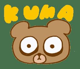 Sleepless Bear sticker #566099