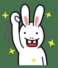 Naughty Rabbit Rabbin sticker #566399