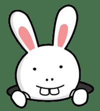 Naughty Rabbit Rabbin sticker #566416