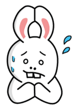 Naughty Rabbit Rabbin sticker #566419
