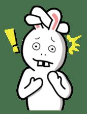 Naughty Rabbit Rabbin sticker #566422