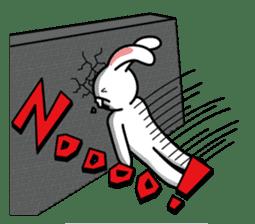 Naughty Rabbit Rabbin sticker #566431