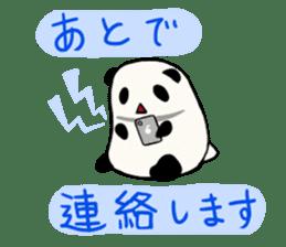 Moving Contact MochiPanda(Japanese Ver) sticker #566884