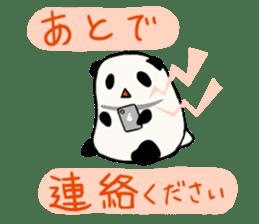 Moving Contact MochiPanda(Japanese Ver) sticker #566885