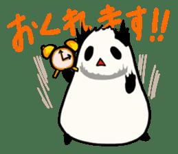 Moving Contact MochiPanda(Japanese Ver) sticker #566906