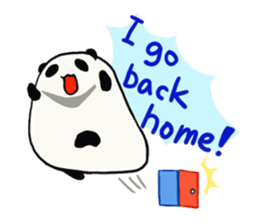 Moving Contact MochiPanda(English Ver) sticker #568315